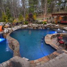 Rustic Pool by Georgia Classic Pool