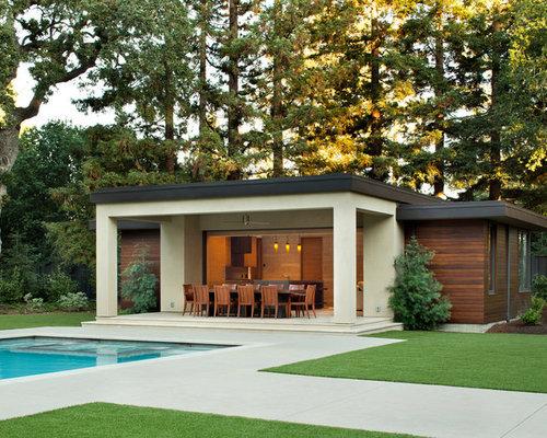 diseo de casa de la piscina y piscina alargada minimalista grande rectangular with piscinas alargadas