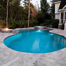 Traditional Pool by Josh Atkinson - Atkinson Aquatech Pools and Spas