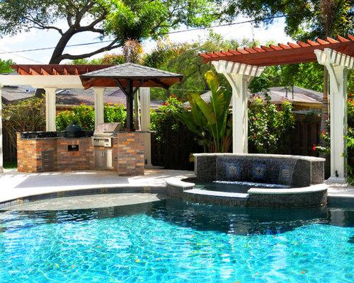Best craftsman tampa pool design ideas remodel pictures for Pool design tampa