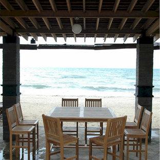 Teak Outdoor Bar | Houzz