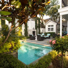 Mediterranean Pool by Brumley Gardens
