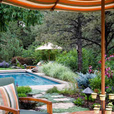 Traditional Pool by Phase One Landscapes