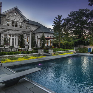 Patio with Pergola and Pool and Spa