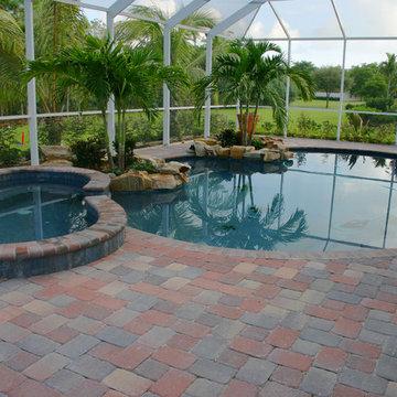 Paver Pool Decks