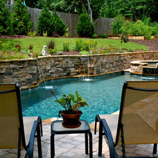 Traditional Swimming Pools And Spas by Boyce Design and Contracting, LLC