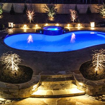 Pebble tech pools