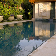 Mediterranean Pool by Pedersen Associates