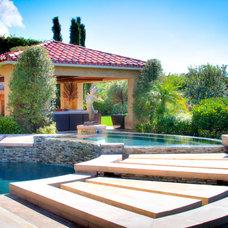 Mediterranean Pool by Urban Landscape