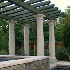 Traditional Pool by J. Roy Construction