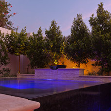 Contemporary Pool by Fluid Dynamics Pool and Spa Inc.