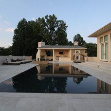 Modern Pool by National Pools of Roanoke Inc