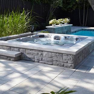 Trendy pool photo in Montreal