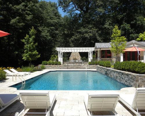 Fotos de piscinas dise os de piscinas alargadas de for Piscinas alargadas