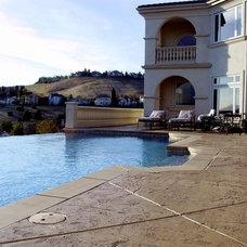 Mediterranean Pool by christopher Lines & Associates
