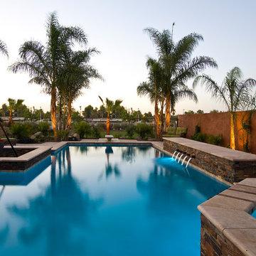 Phoenix Resort Style Diving Pool