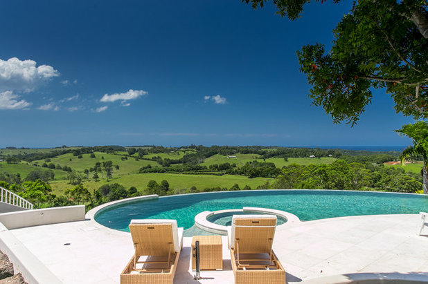 Contemporary Pool by Waters Edge Pool Solutions
