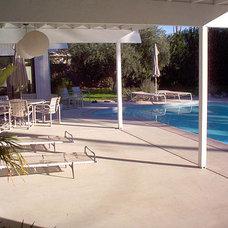 Contemporary Pool by pierre senechal