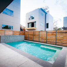 Contemporary Pool by Intexure Architects