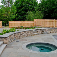 Traditional Pool by Piscataqua Landscaping & Tree Service