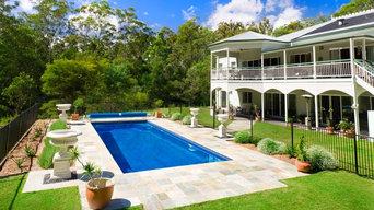 Platinum 9 Fibreglass Pool Classic Elegance
