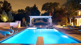 Platinum Poolcare Luxury Pool Photography