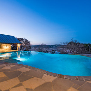 Country pool in Austin.