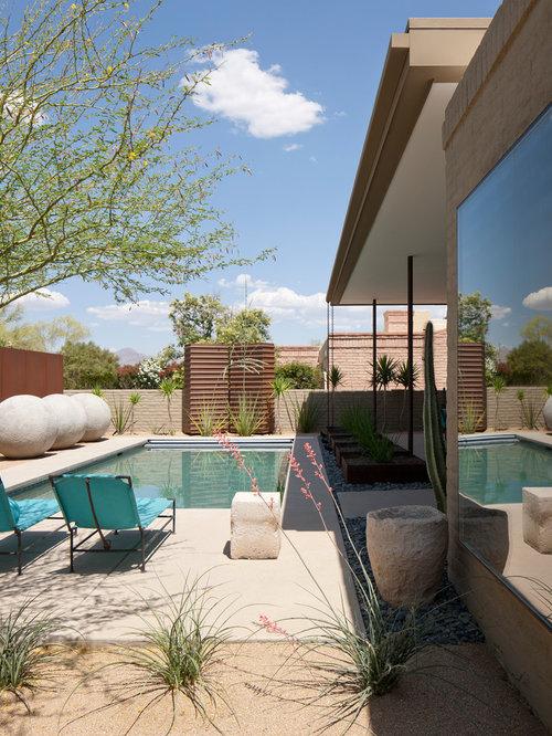 Example Of A Trendy Pool Design In Phoenix