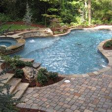 Traditional Pool by Satori Homes & Renovations