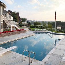 Contemporary Pool by Cramer Kreski Designs