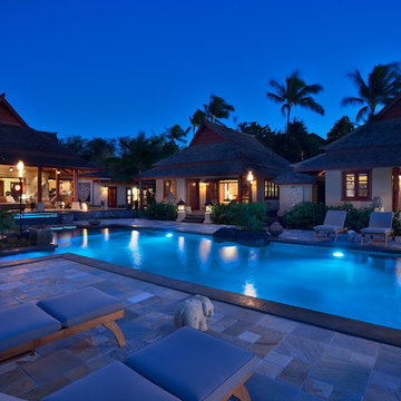 Pool and Casitas