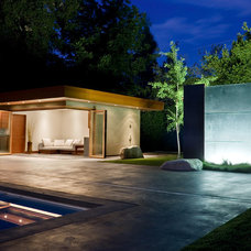 Contemporary Pool by William Duff Architects, Inc.