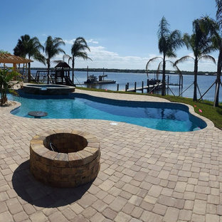 Pool & Jacuzzi Combo with View