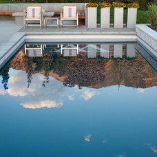 Modern Pool by Ag-Trac Enterprises LC