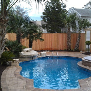 Pool & Patio with Stone Waterfall