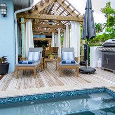 Tropical Pool by Debowsky Design Group