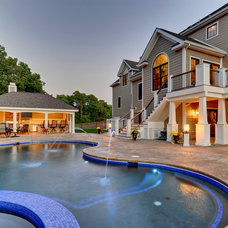 Traditional Pool by Echelon Custom Homes