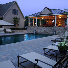 Traditional Pool by Clearwater Landscape & Nursery