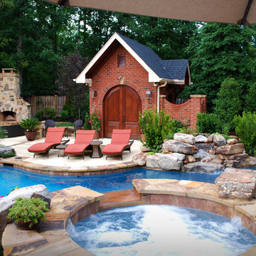 Pool and Poolhouse addition