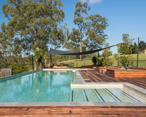 75 Country Brisbane Pool Design Ideas - Stylish Country Brisbane ...