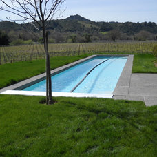 Contemporary Pool by SwanPools
