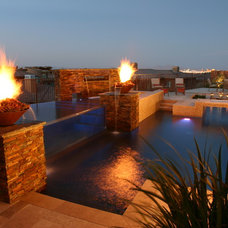 Modern Pool by Paragon Pools