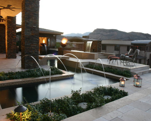 backyard resort pools las vegas. pool design las vegas custom pool ...
