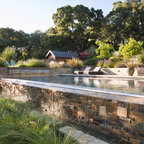 Poolhouse Rustic Landscape San Francisco By