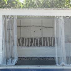 Eclectic Pool pool cabana
