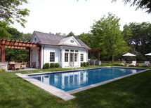 What are the dimensions of this pool house?
