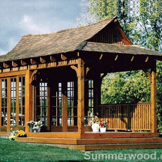 Traditional Pool by Summerwood Products
