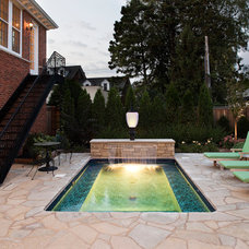 Traditional Pool by Choice Wood Company