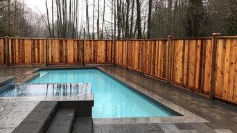 pool deck 6x8 #2 grade solid panels