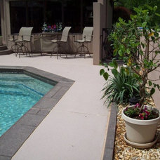 Traditional Pool by Concrete Resurfacing Products